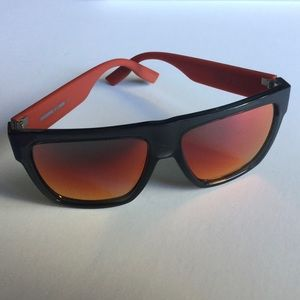 McQ by ALEXANDER MCQUEEN MENS SUNGLASSES RED LENS